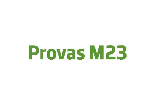 Cursos de Preparação para Provas M23
