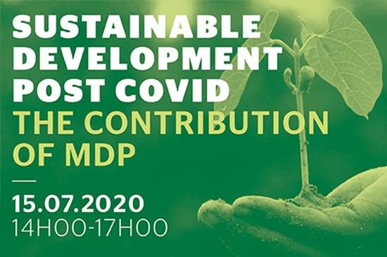 Desenvolvimento Sustentável pós-COVID — a contribuição do MDP