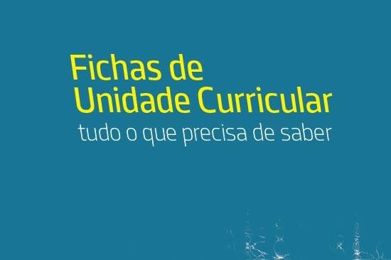 Formação em Fichas de Unidades Curriculares