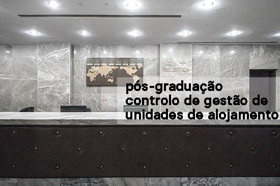 Pós-graduação em Controlo de Gestão de Unidades de Alojamento
